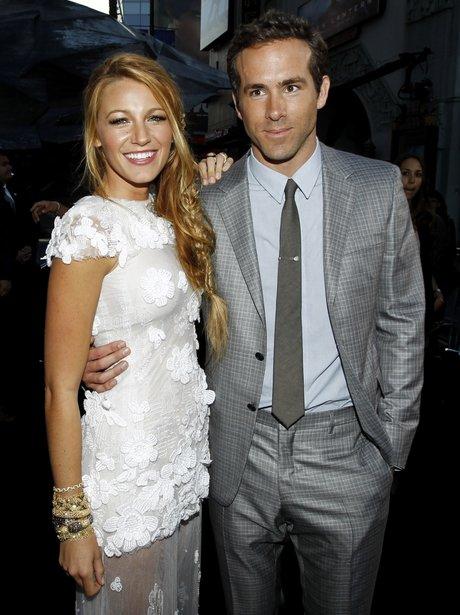 Ryan Reynolds and Blake Lively 2012