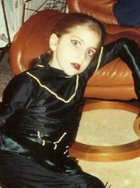 lady gaga before she was famous celebrity photos of the