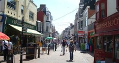 St. Mary's Street in Weymouth