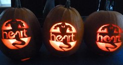 Heart Pumpkin
