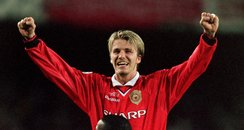 David Beckham's Career in Photos