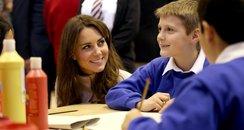 Prince William and Kate Middleton visit Peterborou