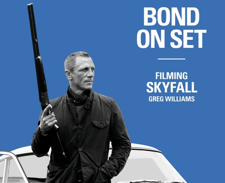 bond at arranged filming skyfall guide review
