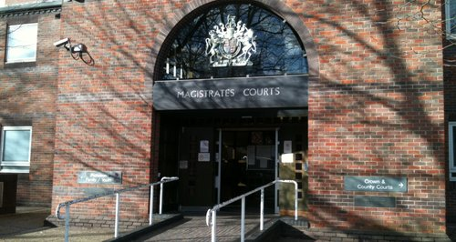 Norwich Magistrates Court front door