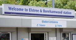 Elstree and Borehamwood Station