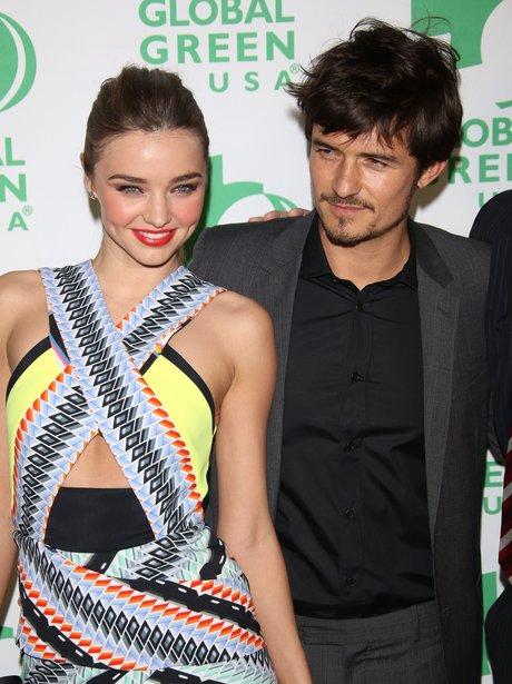 Miranda and Orlando at Global Green