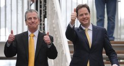 Nick Clegg and Mike Thornton