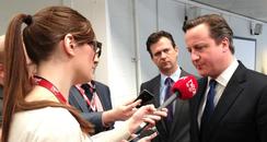 David Cameron Talks To Heart