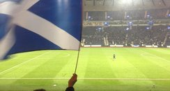 Scotland fans at Hampden