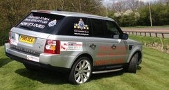 Confiscated Range Rover