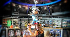 JK & Lucy at Disney Space Mission