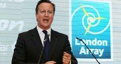 David Cameron's opening speech