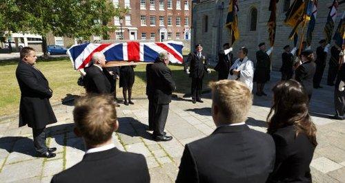 Eddie Grenfell funeral
