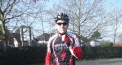 Twyford Cyclist Anthony Hilson