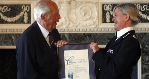Great Train Robbery Police Commendation