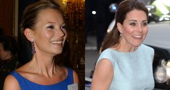 Kate Moss and Kate Middleton