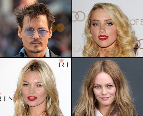 Johnny Depp's girlfriends