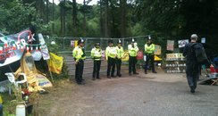 Fracking Protest Site
