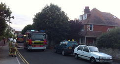 Swanage Flat Fire