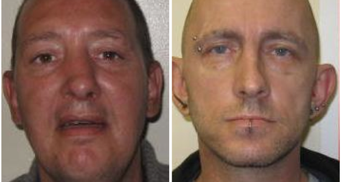 Hollesley Bay absconders Paul Devereux and Jonatha