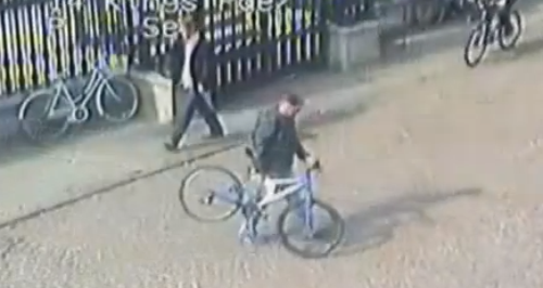 Staged Cambridge bicycle thefts