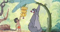Mowgli and Baloo The Jungle Book