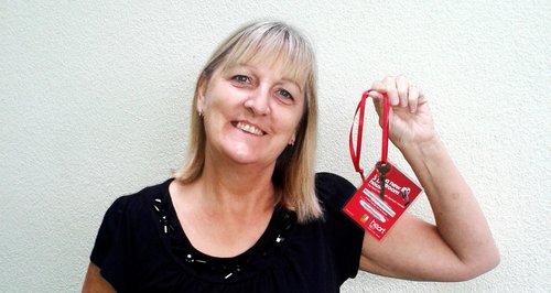 Heart House Key Winner Jill