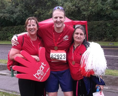 Swindon Half Marathon Getting Post Marathon 2013