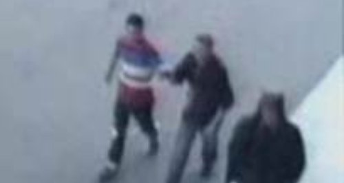 Polcie release image of men after teen assaulted