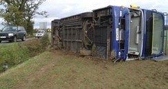 Hadleigh bus crash