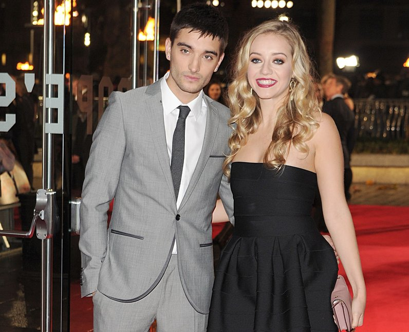 Tom Parker with cool, hot, beautiful, sexy, cute, Girlfriend Kelsey Hardwick
