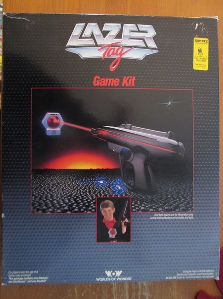 Bestselling Toy Brands On Amazon Com: 1986 Was The Year Of Lazer-Tag. Pow!