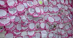 Lots of Race for Life messages