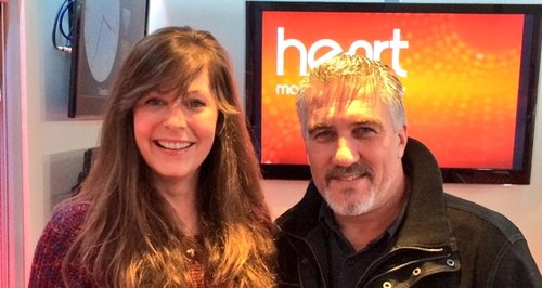 Lucy with Paul Hollywood