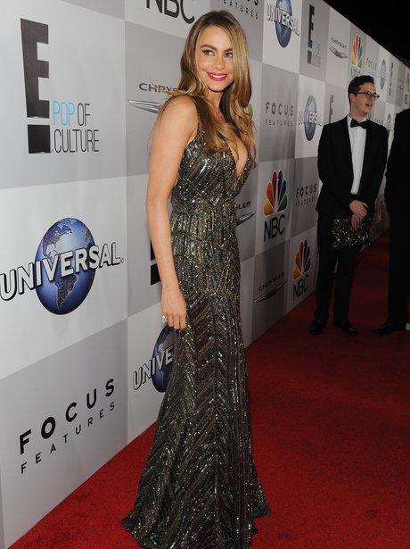 Sophia Vergara at the Golden Globe Awards 2014 aft