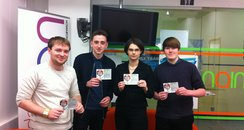 Students at NCC Against transport cuts