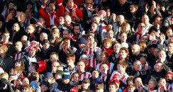 Southampton FC Saints fans