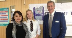 Dr Hilary Jones and Emma Wileman at Tideway