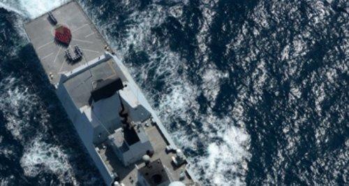 HMS Daring Portsmputh Valentine