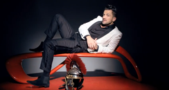 Peter Andre in a white blazer