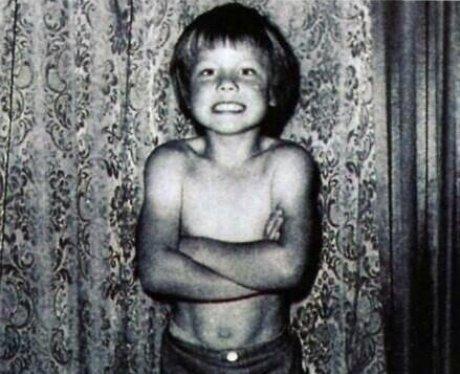 Gary Barlow as a child