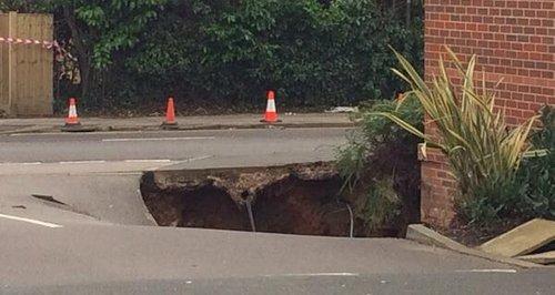 Hemel Hempstead Sink Hole