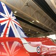 Red Arrows reveal 50th anniversary tailfin