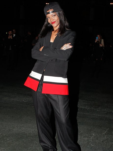 Rihanna Paris Fashion Week 2014