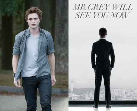 comparing twilight and fifty shades of After reading the fifty books i read several articles comparing the twilight story to fifty shades and saw that it did seem so similar there are lots of people who made direct connections of the stories, characters and locations from the two book series.