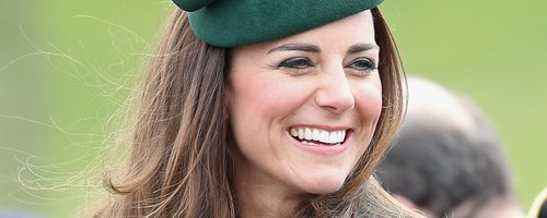 Kate Middleton at the St Patrick's Day parade