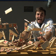 A Man Sets Off 150 Mousetraps In One Go