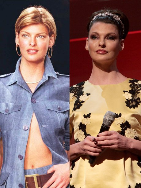 Linda Evangelista - 90s Supermodels: Then And Now - Heart Giorgio Armani Makeup