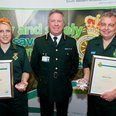 Pair receive commendation for bravery