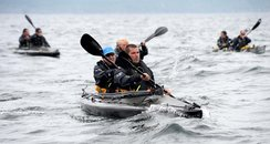Royal Marine Kayakers